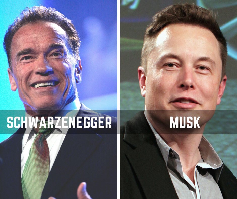 What I've learned from Arnold Schwarzenegger and Elon Musk
